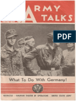 Army Talks ~ 10/21/44