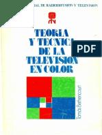 Teoría y Técnica de la Televisión Color