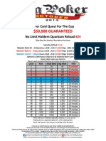 BPO Event No. 24 River Card NLH Quantum Reload