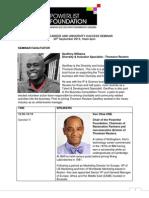 Speakers - Sharing University and Career Success Seminar