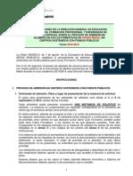 Instrucciones de la Dirección General de Educación sobre el proceso de admisión de alumnos en Ciclos formativos de Grado Medio 2013 - 2014