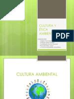 Cultura Ambiental y Etica