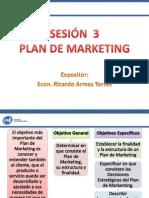SESIÓN  3 - PLAN DE MARKETING