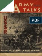 Army Talks ~ 01/27/45