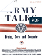 Army Talks ~ 04/19/44