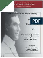 John G Lake Healing Course Manual