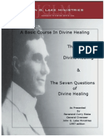 John G Lake Healing Course Manual