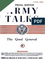 Army Talks ~ 02/02/44