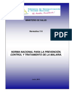 N - 114 Norma Malaria 2013