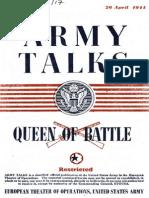 Army Talks ~ 04/26/44