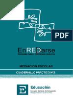 Programa ENREDARSE - Cuadernillo Practico II - Mediacion Escolar