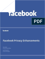 Facebook Privacy Presentation (July 1, 2009)