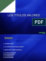 Clase 12 Los Titulos Valores