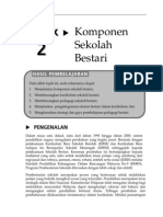 Topik 2 Komponen Sekolah Bestari