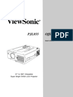 Viewsonic Pj885-1 User Guide