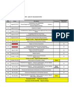 Cronograma 2012-2