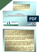 Contaminacion de La Industria Metalurgica