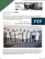 Maratón en Palermo (1910) - Blogs lanacion