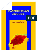 Calentamiento Global al borde del límite