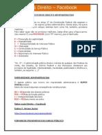 Macetes - Direito Administrativo