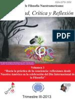 Hacia una Práctica de la Conciencia Posibilidad, Crítica y Reflexión vol.3