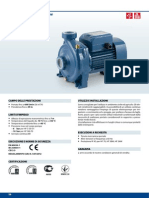 Manual Tecnico Bombas HF Medie PEDROLLO - ITALIANO