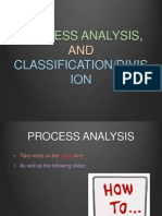 process analysis and classification