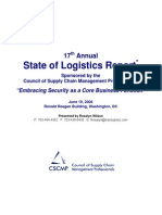 17th Annual State of Logistics Report