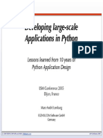 LSM2005 Developing Large Scale Applications in Python