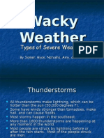 Wacky Weather (Student Sample)