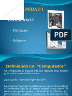 UNIDAD I Hardware Software 2