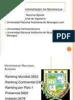 Ranking de Universidades en Nicaragua