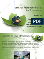 La Ética Medioambiental