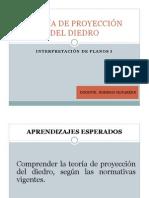 TEORÍA DE PROYECCIÓN DEL DIEDRO
