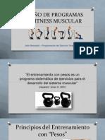 Diseño de Programas de Fitness Muscular - Itallo Benedetti