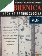 Srebrenica hronika ratnog zločina - Jan Willem Honig, Norbert Both