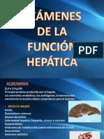 Examenes de La Funcion Hepatica - Examenes Paraclinicos en Aparato Digestivo