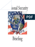 National Security Briefing