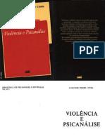 COSTA, Jurandir Freire. Violência e Psicanálise