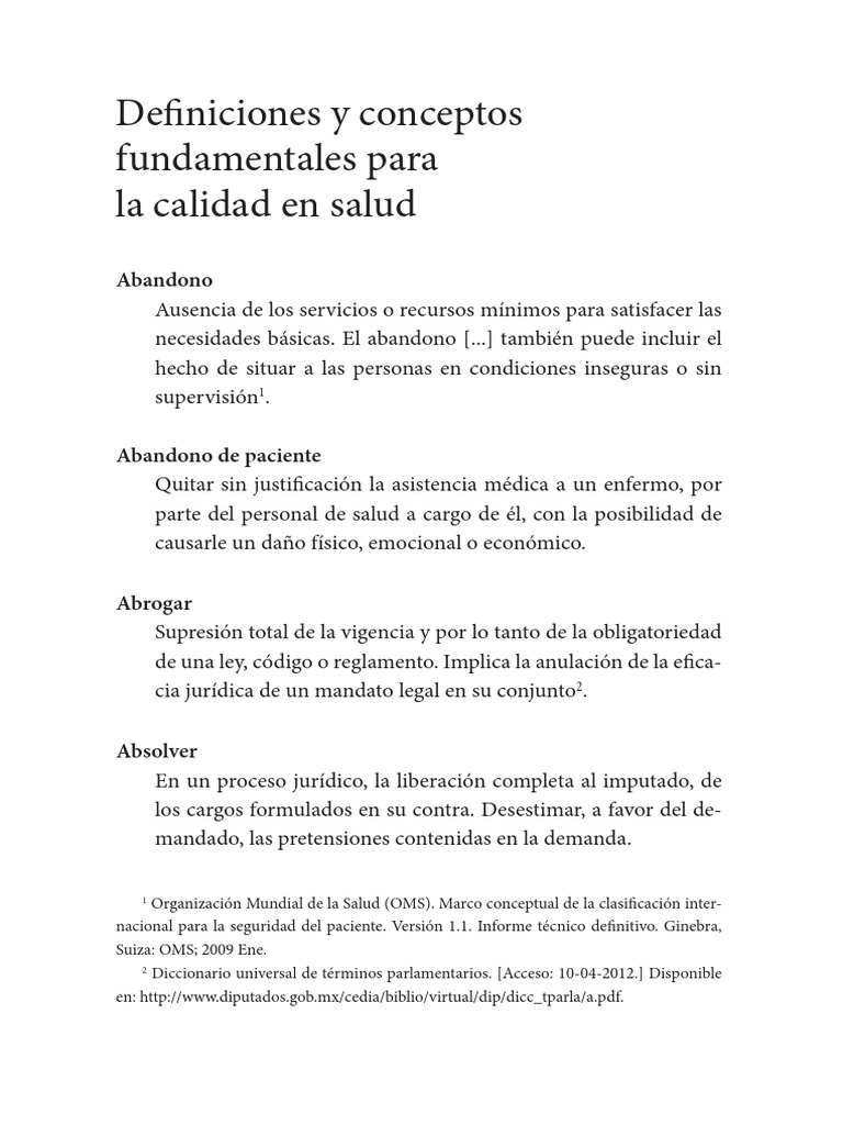 Diccionario de Salud Publica