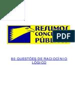 Www.unlock-PDF.com 80 Questoes Racicinio Logico