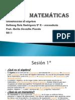 Algebra2do Secundaria