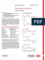 HSBC China Flash PMI (23 Sept 2013)