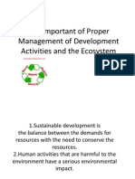 The Important of Proper Management of Development Activities by shirley&bong.ppt