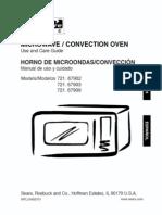 67909 Convection Countertop MIcrowave