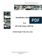MDVR Installation Manual
