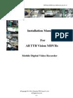 MDVR Installation Manual