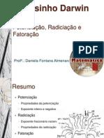 Potenciação e radiciação aula 1