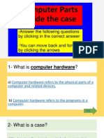 Computer Parts Inside Case