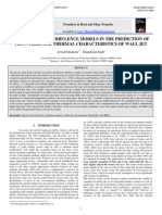 Assessment of Turbulence Models in the Prediction of Flow Field and Thermal Characteristics of Wall Jet